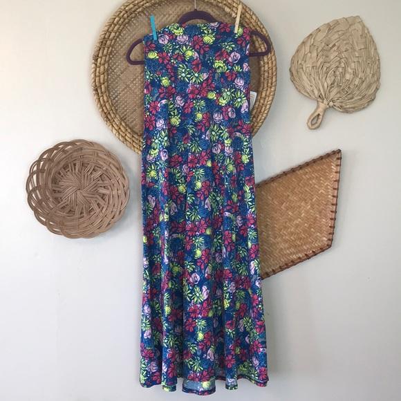 LuLaRoe Dresses & Skirts - Lularoe maxi Flower Print NWT